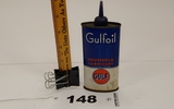 Gulfoil Gulf Houshold Lubricant Can
