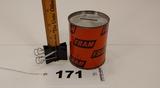 Fram Oil Can Tin Coin Bank