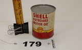Shell Outboard Motor Oil Can
