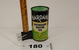 Bardahl Outboard Motor Oil Can