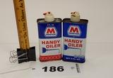 Marathon Handy Oiler Cans