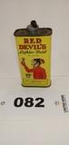 Red Devil Lighter Fluid Can