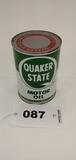 Quaker State Hd Motor Oil Can