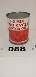 E-z Mix Two Cycle Motor Oil Can