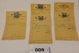 Ney Lumber Receipts 1958-1959