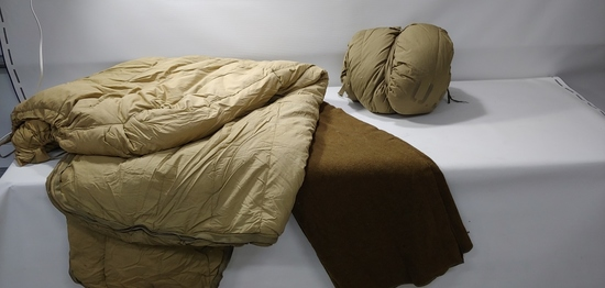 WWII Sleeping Bags