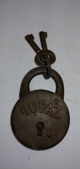 Topaz Eagle Padlock