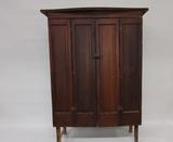 Antique split door cabinet