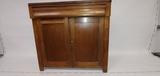 Antique 2 door, 1 drawer cabinet