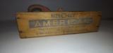 Antique wooden box & Tools