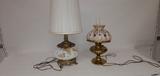 Hurricane & Brass Lamps