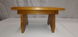 Oak step stool
