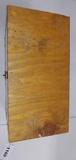 Handmade wooden box