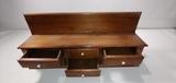 6-Drawer Wooden Shelf