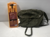 Military Canvas Bag & Cleaning Kit