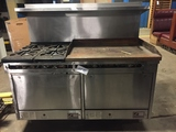 Southbend Gas Stove & Griddle