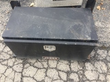 Lot of 3 Black Steel Truck Tool Boxes