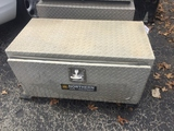 Lot of 2 36-Inch Aluminum Tool Boxes