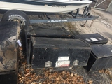 Lot of 5 Steel Truck Tool Boxes