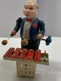 Wind-up Toy Playing Xylophone