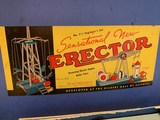 Vintage Erector Set w/ Box, No. 7-1/2 Engineer