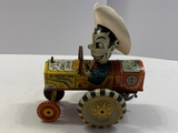 Marx Milton Berle Wind-up Tractor