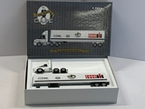 ERTL 1/64 Scale J I Case Semi Tractor & Trailer