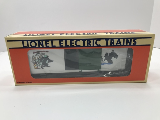 Lionel The Perils of Mickey HI-CUBE Box Car II