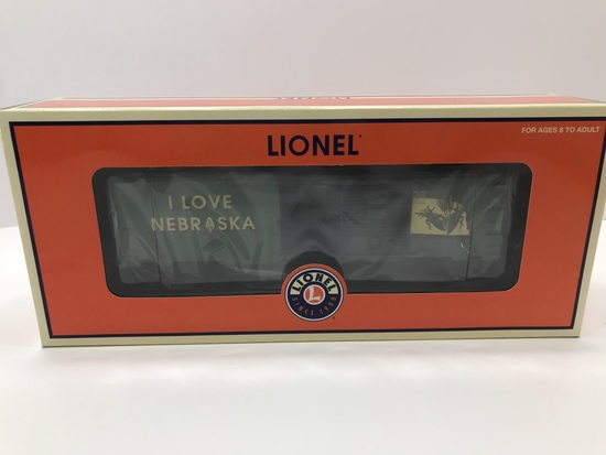 Lionel I Love Nebraska Box Car 6-29922