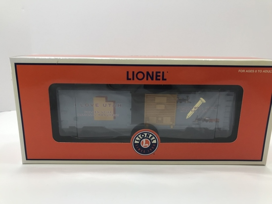 Lionel I Love Utah Box Car 6-29930
