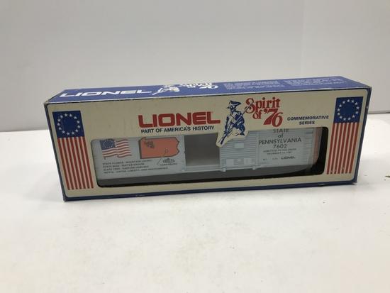 Lionel Spirit of '76 Pennsylvania Box Car 6-7602 | Art