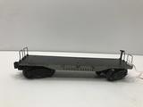 Lionel Lines Flatcar Grey/Black 2419-2