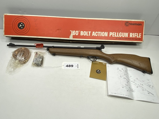 Crosman 160 Bolt Action Pellgun Air Rifle