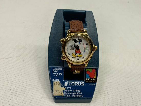 Lours - Mickey Mouse Watch