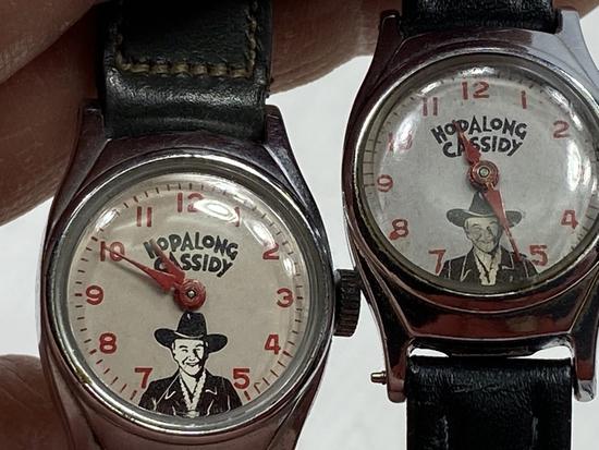 4 - Hopalong Cassidy Watches
