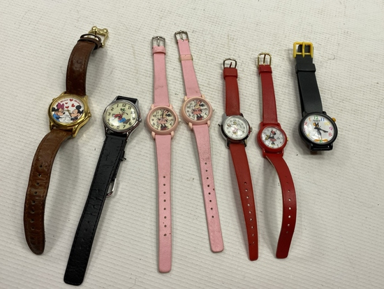 7 - Disney Character Watches