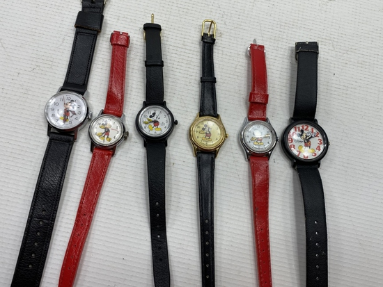 6 - Mickey Mouse Watches