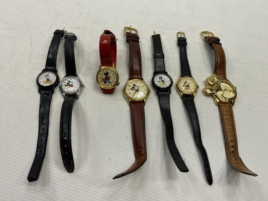 7 - Mickey Mouse Watches