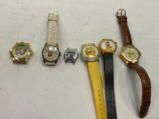 6 - Character Watches