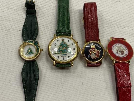 4 - Christmas Theme Watches