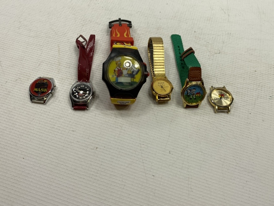 6 - Assorted Watches