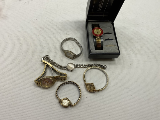 6 - Womens Assorted maker Watches