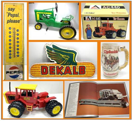 Spring Farm Toy & Literature Online Auction