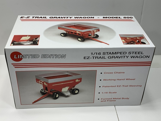 1/16 Stamped Steel EZ-Trail Gravity Wagon Limited Edition Model 500