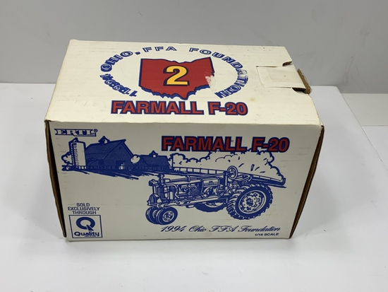 Farmall F-20, Ertl 1994 Ohio FFA Foundation, 1/16 Scale, NIB