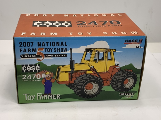 Case 2470 Traction King, 2007 National Farm Toy Show Vintage 5 4WD Series, 1/32 Scale