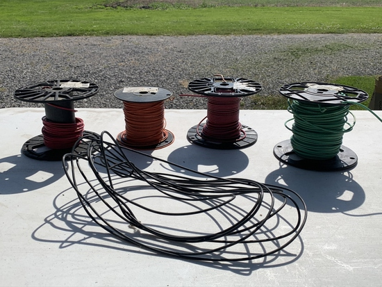 Assortment Of 12 Gauge Wire