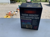 Intelectron Motion Detector With Security Light