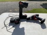 Master Tools-Flashlight, Cordless Drill