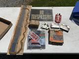 Staple Guns, Staples, Gasket, No Trespassing Sign